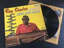 "RAY CHARLES ""The Genius Hits The Road"" LP M- Mono, Hi-Fi 1960 ABC-335"