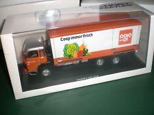 "IXO / Tek-Hoby # 4301 - Saurer D 330 F ""COOP Aargau"" - 1:50 Made in China"