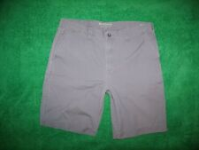 Men's Sonoma Gray Carpenter Shorts 100% Cotton 38 x 10.5