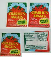 1977 Topps Charlie's Angels Series 4 Trading Cards Sealed Wax Pack