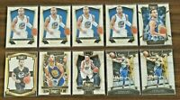 Panini Select Stephen Curry Lot (10) (2014-19) Golden State Warriors