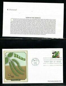 2006 Sc #4013-17 39c Crops Of America Vending Booklet Fleetwood cachet 5 FDC