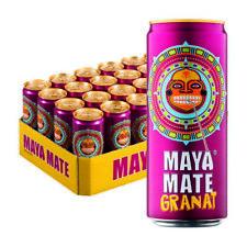 Maya Mate Tee Granat Eistee koffeinhaltiges Erfischungsgetränk 24x 330ml