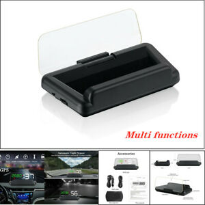 T900 Universal Car LED GPS Speed Water Temperature HUD Head-up Projector Parts