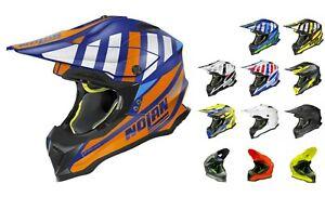 Nolan N53 Cliffjumper/Portland 2021 Motocross MX Gelände Motorrad Peak Helm