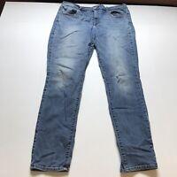 American Eagle Hi Rise Jegging Medium Wash Blue Skinny Jeans Sz 18L 18 Long A624