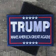 Trump Make America Great Again  Embroidered Swat Tactical Badge yu