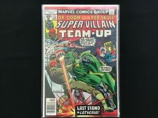 SUPER-VILLAIN TEAM-UP #11 Lot of 1 Marvel Comic Book (c) - High Grade!