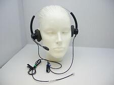 Plantronics SP12 Binaural Headset for Nortel Avaya NEC Polycom Toshiba Commander