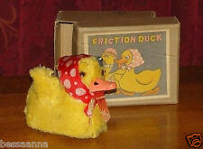 Vintage 1960s or eariler Friction Mechanical Duck Toy Made in Japan