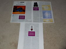 Vac Pa160 Mono Tube Amplifier Review, 3 pages, 1995, Rare Test, Specs
