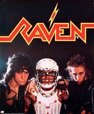 Raven 1985 N.W.O.B.H.M. Original Vintage Promo Poster