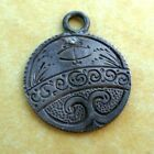 Antique Victorian Diamond Set Love Token Dime Coin Charm 1862 Engraved TC CT