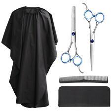 5X Forbici Parrucchiere Professionali Capelli Barbiere Kit Forbice Per Sfoltire