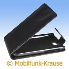 Flip Case Etui Handytasche Tasche Hülle f. Nokia Lumia 630 (Schwarz)