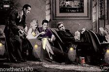 2973 Marilyn Monroe Elvis James Dean Bogart Color 8.5x11 Glossy Picture Photo