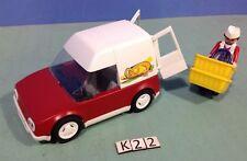 (O4411) playmobil camionnette boulangerie ref 4411 4410 4412