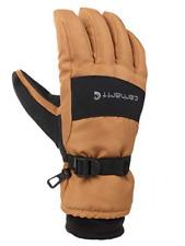 Carhartt Mens Wp Waterproof Insulated Glove X Large Brownblack