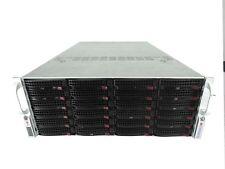 Supermicro custom server Quad Xeon E5-4657Lv2,512GB RAM,2x10GbE,HW RAID,PCIE SSD