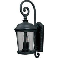 Maxim Dover Cast 3-Light Outdoor Wall Lantern Bronze - 3024Cdbz