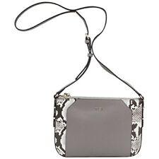 Guess Women's Devyn Mini Pebbled Taupe Multi Crossbody Handbag