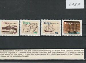 (0738) Tonga 1981, Entdeckung von Vava'u durch Maurelle