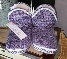gilligan o'malley womens girls woven slippers,new.