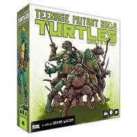 TEENAGE MUTANT NINJA TURTLES - 'Shadows of the Past' Board Game (IDW Games) #NEW