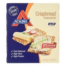 Atkins Low Carb, High Fibre Crispbread, Weight Loss 20 x 5g