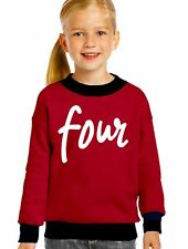 Four sweatshirt shirt USA- girls Queen Apparel cotton fleece girls sweatshirt