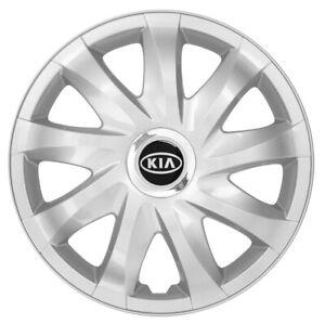 14'' Wheel trims hub caps fit KIA Picanto Rio silver  4x14''