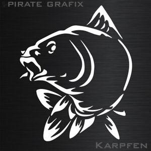 AUFKLEBER CARTATTOO FISHING ANGELN KARPFEN ANGELRUTE FISCH HOBBY FISCHEN TOP