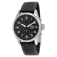 Oris Big Crown ProPilot Chronograph Black Dial Black Mens Watch 774-7699-4134LS
