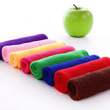 10Pcs Wholesale Towels Microfiber Hand Face Car Cloth House Cleaning Towels