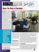 Carlos Valente Signed 8.5x11 Magazine Page Photo BAS Beckett COA UFC Jiu-Jitsu 2