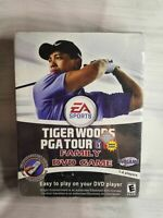 Tiger Woods PGA Tour 07 Family DVD Video Golf Game New and Sealed