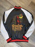 Star Wars Darth Vader Men's Satin Bomber Jacket Size M Disney Embroidered RARE