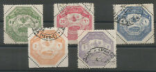 1898 TURKEY GREECE THESSALY ARMY COMPLETE SET FINE USED
