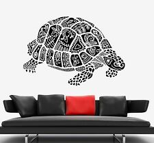Wall Decal Tortilla Lake Animal Ornament Tribal Mural Vinyl Decal (z3315)