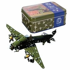 FIGHTER PLANE IN A TIN - Apples to Pears - Fun Construction Build Kit **NEW**