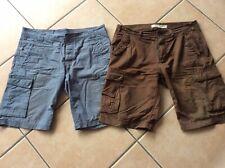 34 33 ESPRIT Shorts Cargoshorts Relaxed Fit  W32 36  4 Farben NEU