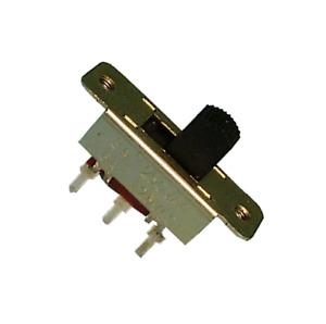 10Pcs 2 Position DPDT 2P2T Panel Mount Vertical Slide Switch 3A 125V 6A 250V P0H