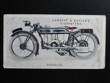 No.16 DOUGLAS - Motor Cycles by Lambert & Butler 1923