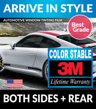 PRECUT WINDOW TINT W/ 3M COLOR STABLE FOR FORD ESCORT 4DR LIFTBACK 91-96