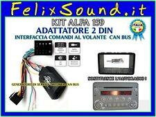 Kit ALFA 159  Adat.  2DIN Alfa 159  con AUTORADIO OEM  + Adat.Comandi al Volante