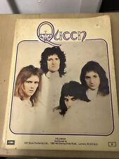 Queen I & II Music & Lyrics EMI book from 1974