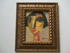 MIKE RIVERO PAINTING ABSTRACT  EXPRESSIONIST WOMAN WOMEN PORTRAIT EXPRESSIONISM
