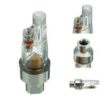 "Hose Paint Fittings AIRBRUSH MINI AIR FILTER Moisture w Water Tool 1/8"" Kit W7V1"
