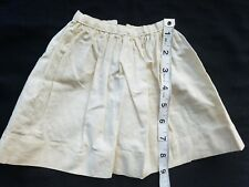 A14 Antique Doll Petticoat Slip Dolls Teddy Bear Dress Primitive Skirt