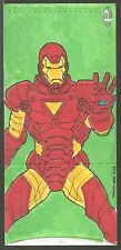 "2014 Marvel Premier David Lee ""Ironman"" 3-PANEL COLOR SKETCH Never Folded"